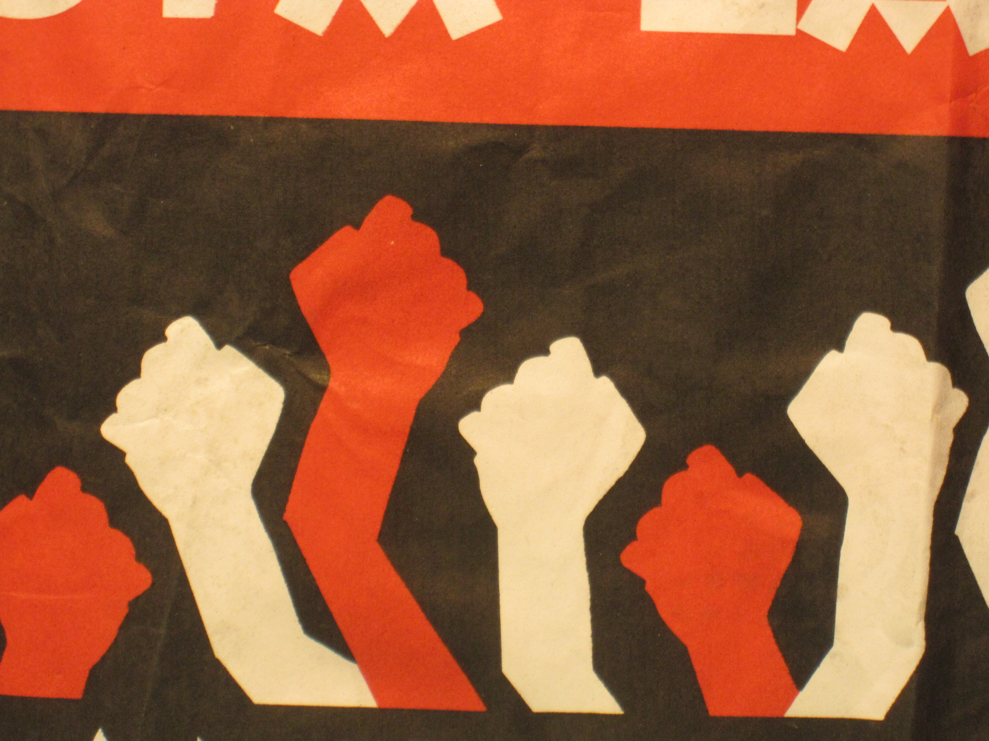Raised Fist Political Art Research Project